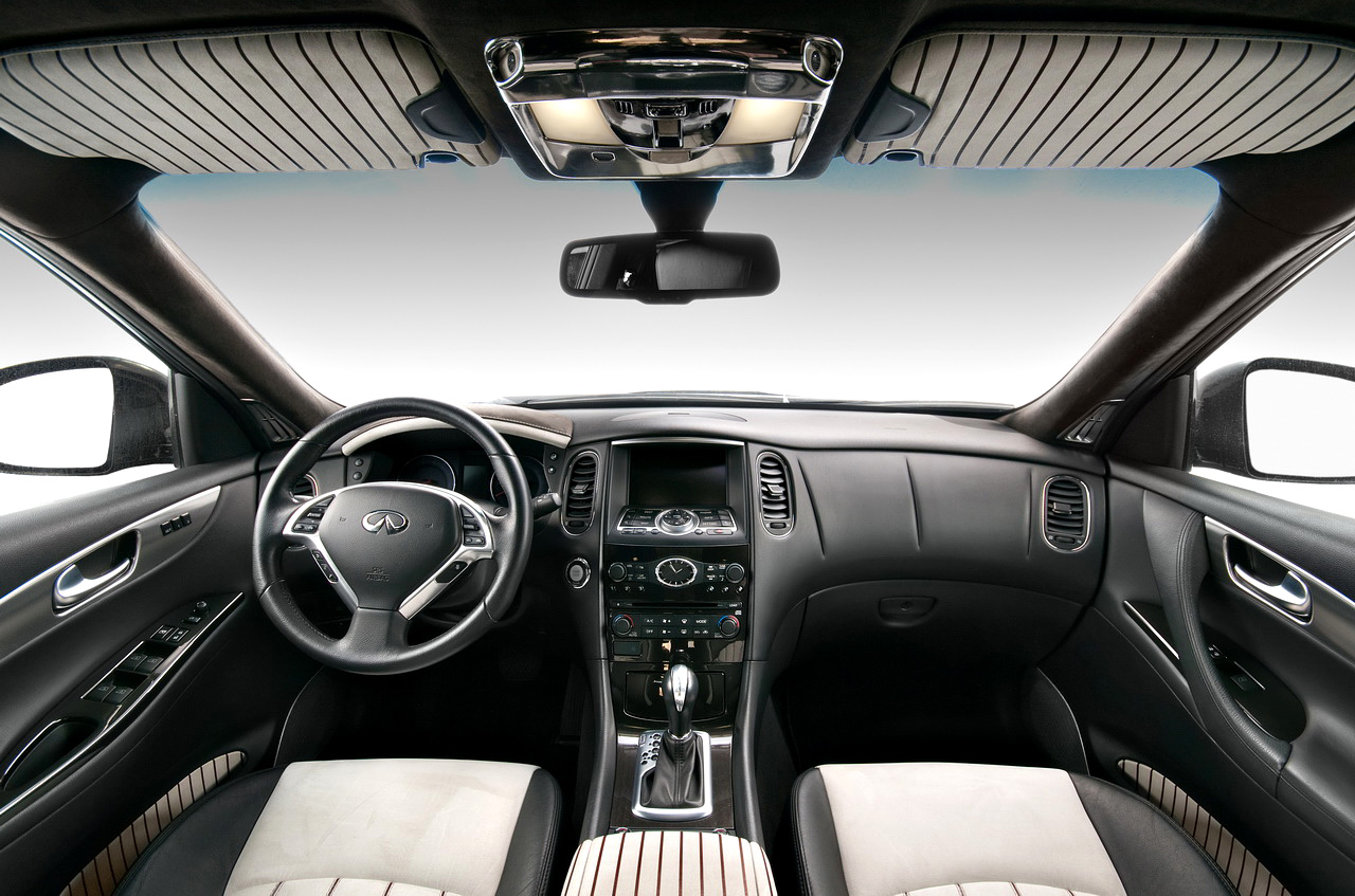 2011 Infiniti EX 35 and FX 35 by Vilner Custom interior car design